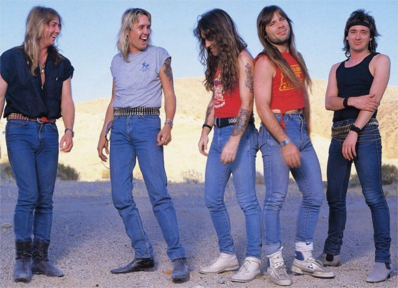 iron-maiden-somewhere-in-time-1986-lineup