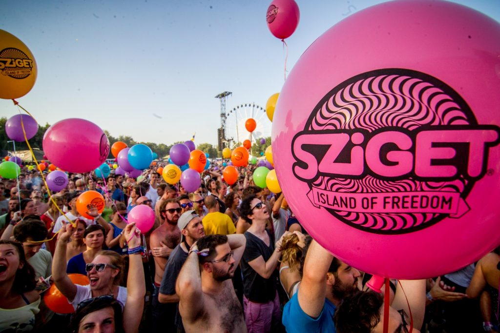 Sziget color party 2018 dresses